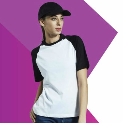 Basic Short Raglan-Sleeves T-Shirts 2019-20 models 1