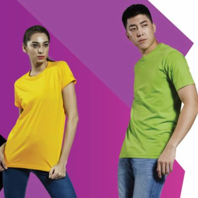 Basic Superb Cotton Round Neck T-Shirts 2019-20 MODELS 1