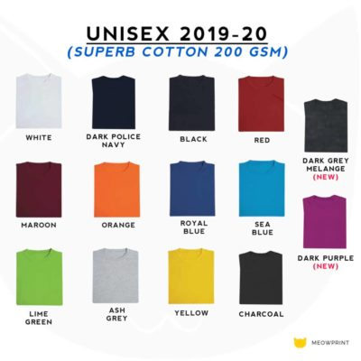Basic Superb Cotton Round Neck T-Shirts 2019-20 catalogue