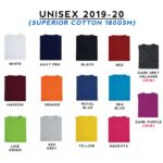 Basic Superior Cotton Round Neck T-Shirts 2019-20 catalogue
