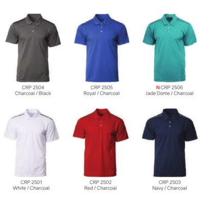 CRP2500 Ocean Polo T-Shirts 2019-20 catalogue