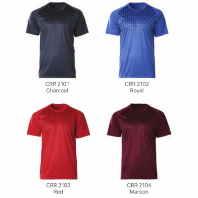 CRR2100 Crossrunner Matrix Tee 2019-20 catalogue