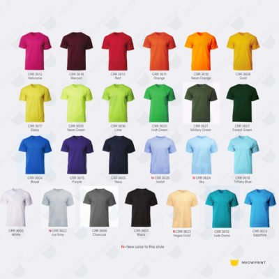 CRR3600 Dry Pique Performance T-shirts catalogue