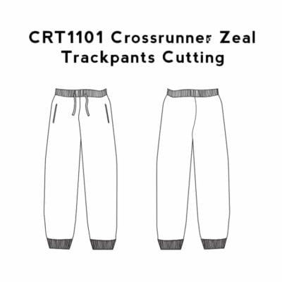 CRT1101 Crossrunner Zeal Trackpants 2019-20 cutting