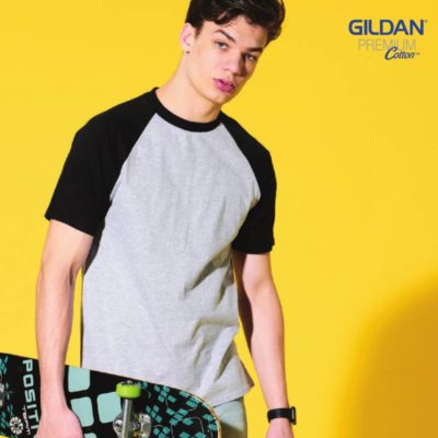 Gildan Short Raglan-Sleeves T-Shirts (76500) 2019-20 model 1
