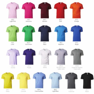 Gildan Softstyle Cotton Adult T-Shirts 63000 2019-20 catalogue