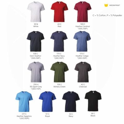 Gildan Ultra Cotton Adult T-Shirts (2000) 2019-20 catalogue