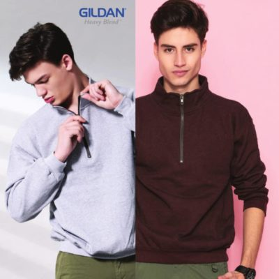 Gildan Vintage Cadet Collar Sweatshirts (18800) 2019-20 model 1