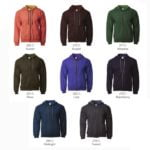 Gildan Vintage Full Zip Hooded Sweatshirts (18700) 2019-20 catalogue