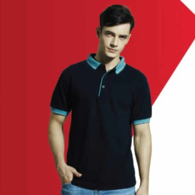 HC20 Multi-Tone Cotton Polo T-Shirts 2019-20 models 1
