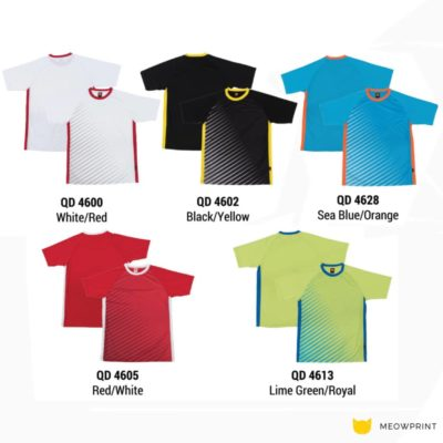 QD46 Multi-tone dri-fit t-shirts 2019-20 catalogue