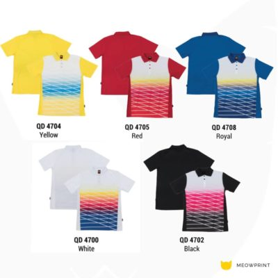 QD47 Multi-Tone Dri-Fit Polo T-Shirts 2019-20 catalogue