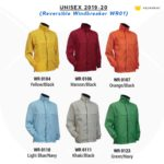 Reversible Windbreaker WR01 2019-20 catalogue