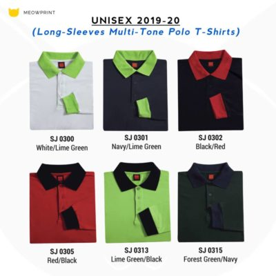 SJ03 Long-Sleeves Polo T-Shirts 2019-20 catalogue