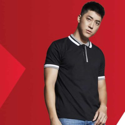 SJ04 Multi-Tone Cotton Polo T-Shirts 2019-20 models 1