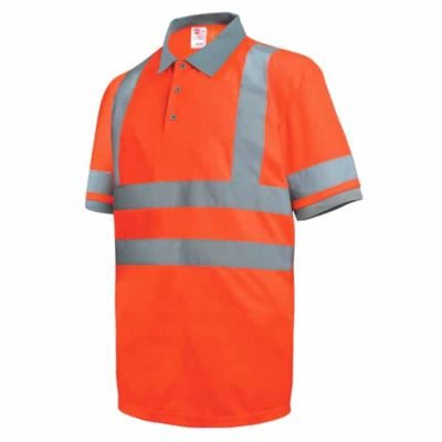 Safety Vest Reflective Polo T Shirt orange 400x400 - Safety Vest Reflective Polo T-Shirt