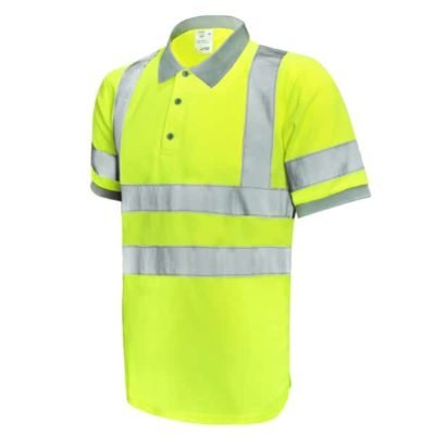 Safety Vest Reflective Polo T Shirt yellow 400x400 - Safety Vest Reflective Polo T-Shirt