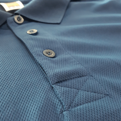 basic dri fit polo material