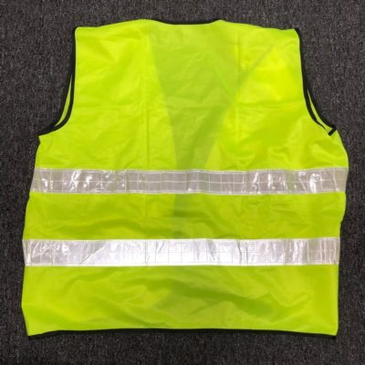 basic safety vest 2019 back view
