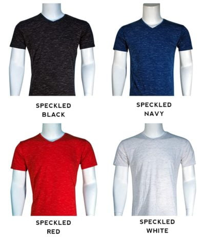 lycra vneck slim fit t shirt blend 400x463 - Cotton Lycra V-Neck T-Shirts