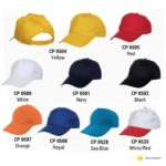 CP05 5-panel Baseball Cap 2019-20 catalogue