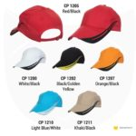 CP12 6-panel Baseball Cap 2019-20 catalogue