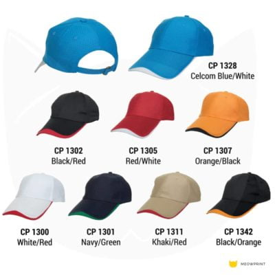 CP13 6-panel Baseball Cap 2019-20 catalogue