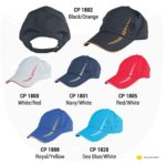 CP18 6-panel Baseball Cap 2019-20 catalogue