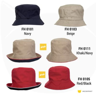 FH01 Fisherman Hat 2019-20 catalogue