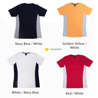 Cool Multi-Tone Round Neck T-Shirts (RN1000) 2019-20 catalogue