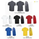 HC22 Multi-Tone Mandarin Polo T-Shirts 2019-20 catalogue