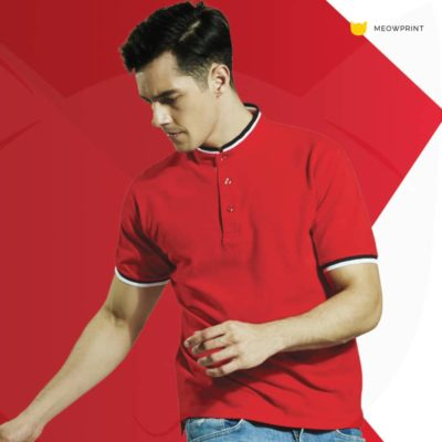HC23 Multi-Tone Mandarin Polo T-Shirts 2019-20 models 1