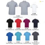 HC24 Multi-Tone Cotton Polo T-Shirts 2019-20 catalogue