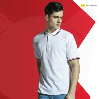 HC24 Multi-Tone Cotton Polo T-Shirts 2019-20 models 1