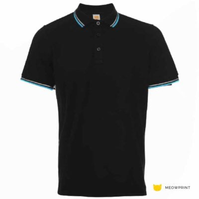 HC2402 Multi-Tone Cotton Polo T-Shirts 2019-20 thumbnail