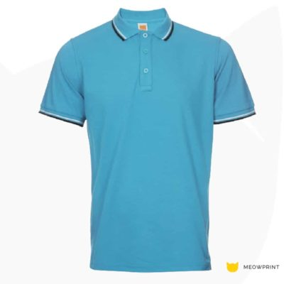 HC2417 Multi-Tone Cotton Polo T-Shirts 2019-20 thumbnail