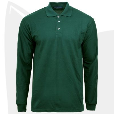NHB 24407 Forest Green 2019 20 thumbnail 400x400 - NHB24400 Soft Touch Long Sleeve Polo T-Shirts