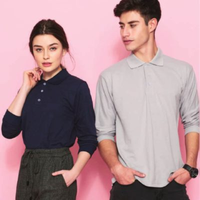 NHB2440 Soft Touch Long Sleeve Polo T-Shirts 2019-20 model 3