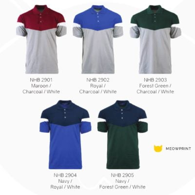 NHB2900 Adley Polo T-Shirts 2019-20 catalogue