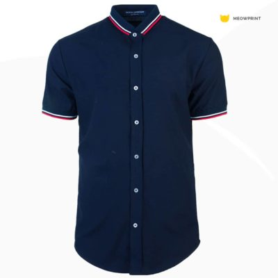NHB3003 Navy White Red 400x400 - NHB3000 Cyril Racewear Shirt