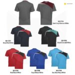 QD57 Multi-tone Dri-Fit T-Shirts 2019-20 catalogue