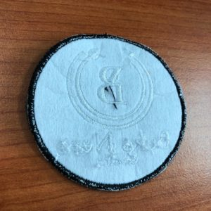 Embroidery patch (buko) back