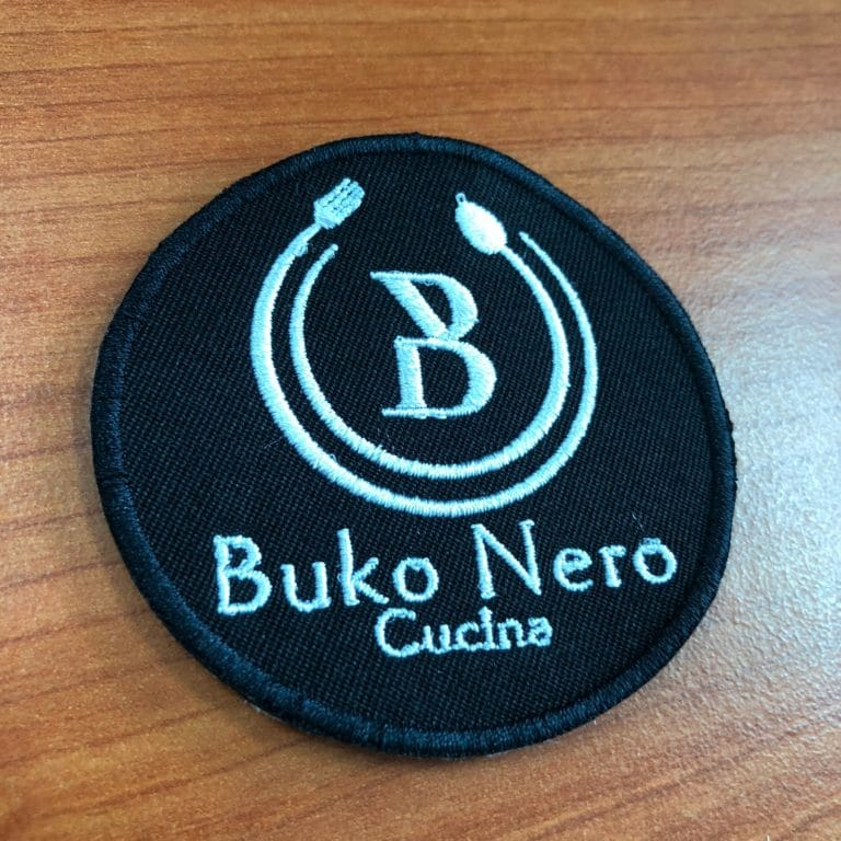 Embroidery patch (buko) front