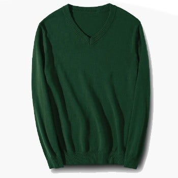 ARS10 BEAM Classic V-Neck Sweater 2019-20 green