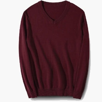 ARS10 BEAM Classic V-Neck Sweater 2019-20 maroon
