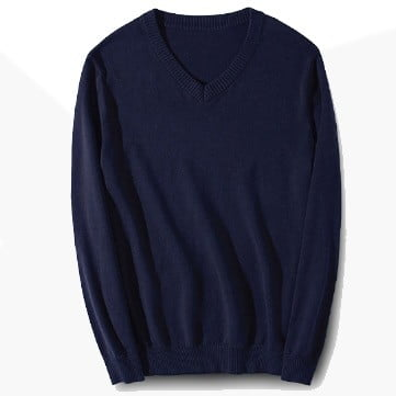 ARS10 BEAM Classic V-Neck Sweater 2019-20 navy