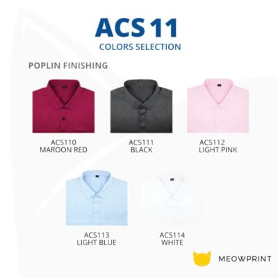 BEAM Poplin Corporate Short Sleeve Shirt 2019-20 catalogue