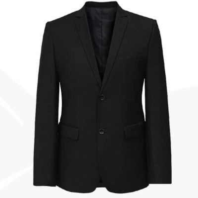 CBM35 BEAM Premium 2 Button Fitted Blazer 2019 20 black 400x400 - CBM35 BEAM Premium 2-Button Fitted Blazer