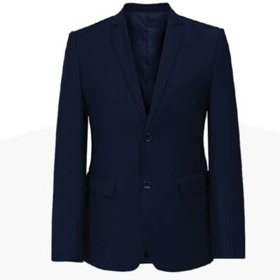 CBM35 BEAM Premium 2-Button Fitted Blazer 2019-20 navy