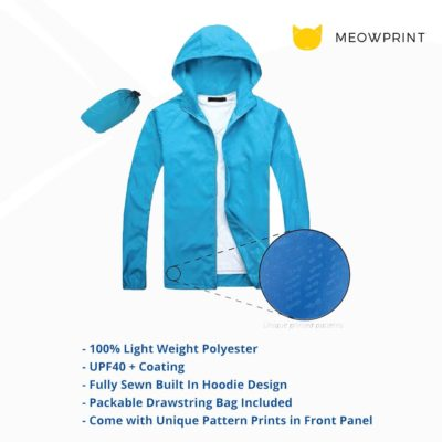 Lightweight Microfiber Jacket 2019 20 details 400x400 - Lightweight Microfiber Jacket (In-A-Bag)